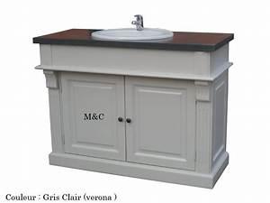 Meuble Salle De Bain Retro : meuble salle de bain d 39 autrefois ~ Teatrodelosmanantiales.com Idées de Décoration
