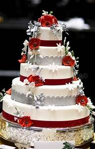 Delicious Red Wedding Cakes | Red Wedding Cakes Pictures ...