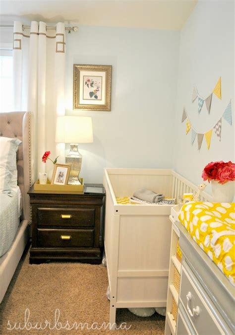 Baby Bedroom Ideas Pictures by Suburbs Nursery In Master Bedroom Kindergarten