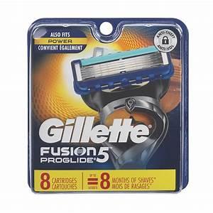 Gillette Fusion Proglide Manual Blades