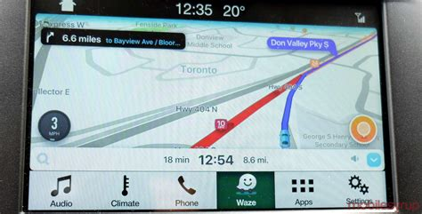 Ford Sync Maps by Waze And Ford Sync 3 Review Late To Arrive