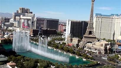 Vegas Las Wallpapers Desktop Fountain Cosmopolitan Bellagio