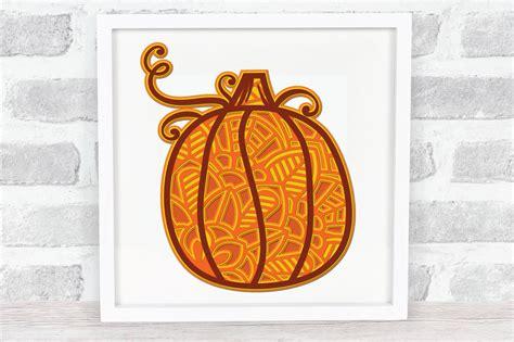 Discover 3 pumpkin svg designs on dribbble. 3D Layered Pumpkin SVG   Fall Multi Layer  Autumn Cut File ...