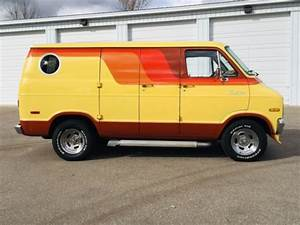 1976 Dodge B200 Street Van     440 Powered Custom 76 Tradesman     Mopar
