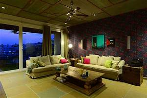 Glamorous Wallpaper Designs For Living Room India 62 For ...