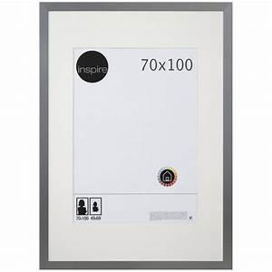 Cadre 70 X 100 : cadre stockton 70 x 100 cm argent leroy merlin ~ Teatrodelosmanantiales.com Idées de Décoration