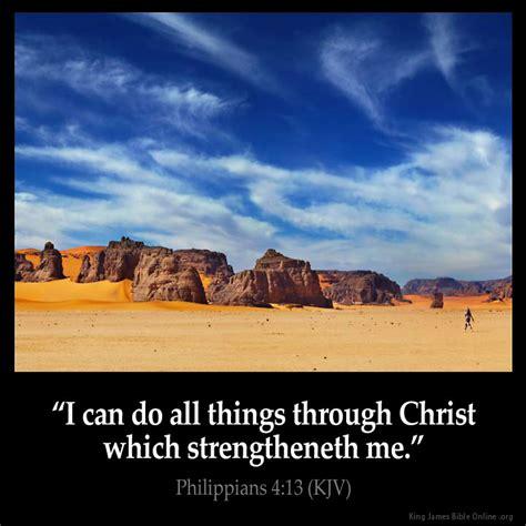 Philippians 413 Inspirational Image
