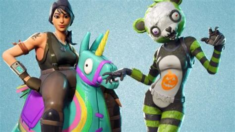 fortnite  skins leaked include zombie pandas siege