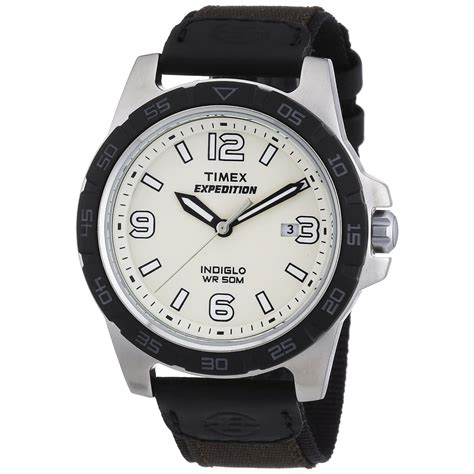 rugged mens watches timex s black expedition rugged metal quartz analog