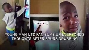 This young fan's teary reaction to Tottenham defeat sums ...