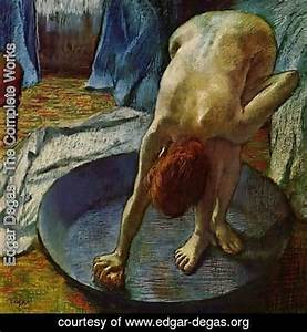 Edgar Degas The Complete Works Woman In The Bathtub