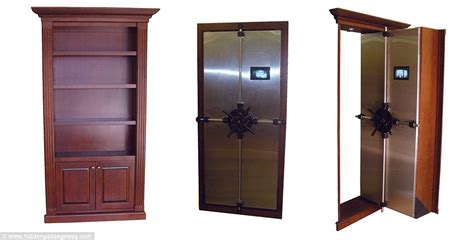 Armoire Sécurité by Real Life Panic Rooms For The Rich And Famous Hidden