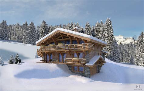 programme immobilier 3d 171 le hameau des seugets 187 4 chalets hm finance 4d univers studio