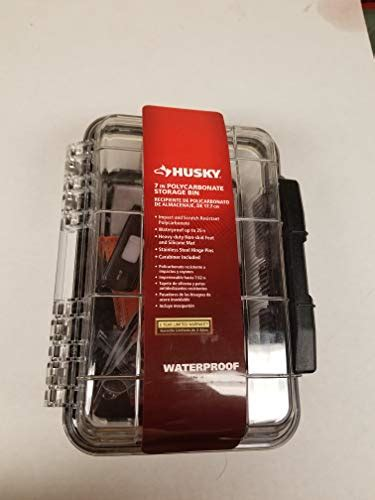 husky   polycarbonate waterproof storage bin