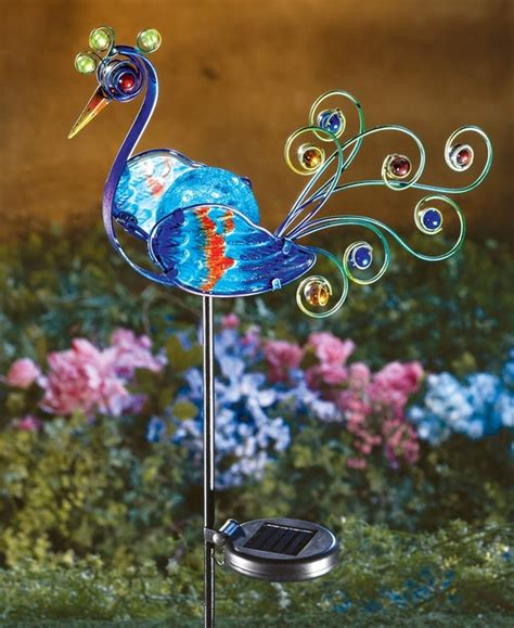 Solar Power Garden Decoration L by Awesome Solar Powered Garden Decor Three Solar Powered Led