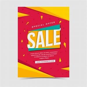 Sales poster design Vector | Free Download