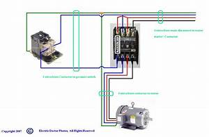 Show Wiring Schematic For Three Phase Air Compressor