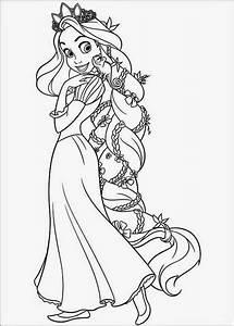 Ausmalbilder, Prinzessin