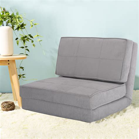 fold chair flip out lounger convertible sleeper bed