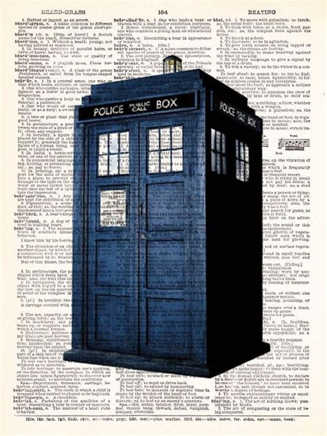 doctor who the tardis phone booth dr who vintage