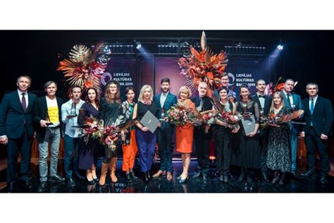Svinīgā apbalvošanas ceremonijā pasniegtas Liepājas Kultūras balvas - Kultūra, māksla - Latvijas ...