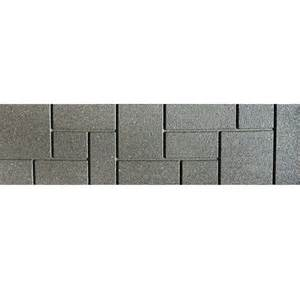 leadvision 10 in x 3 ft rubber brickface paver lowe s canada