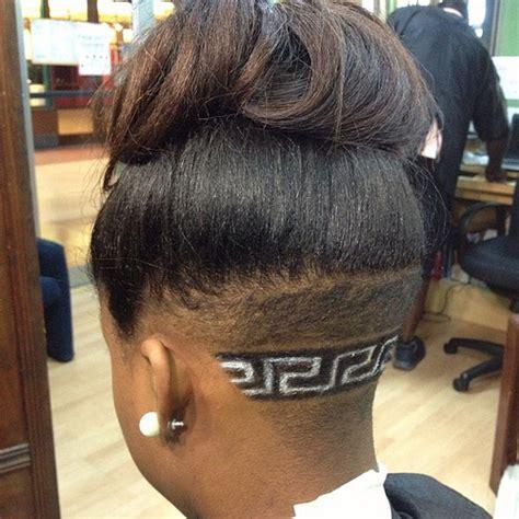 hair styles kut and designs by lexx brown versace logo versac 8249