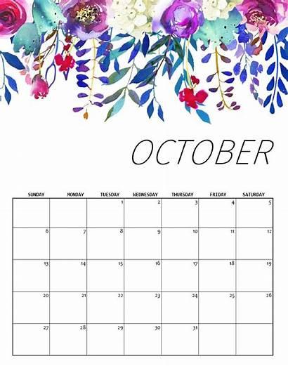 Calendar October Holidays Printable Calendars Template Dates
