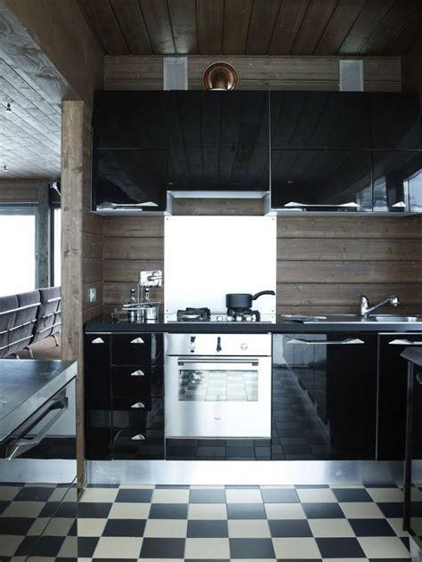 cuisine sol noir cuisine mat et cuisine et blanche 48 inspirations