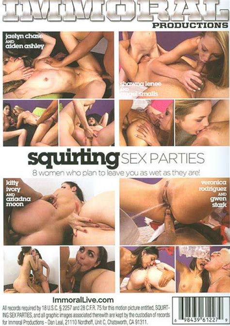 Squirting Sex Parties Adult DVD Empire
