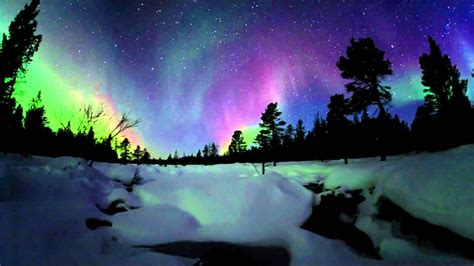 Hd Wallpaper Northern Lights Oba Northern Lights Observatory By Archmedium Youtube