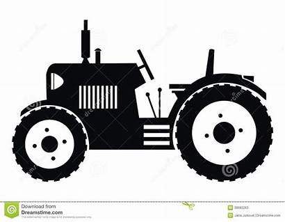 Tractor Silhouette Clipart Tractors Vector Background Clipground
