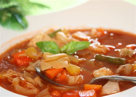 cabbage soup recipe weight watchers  point foodcom