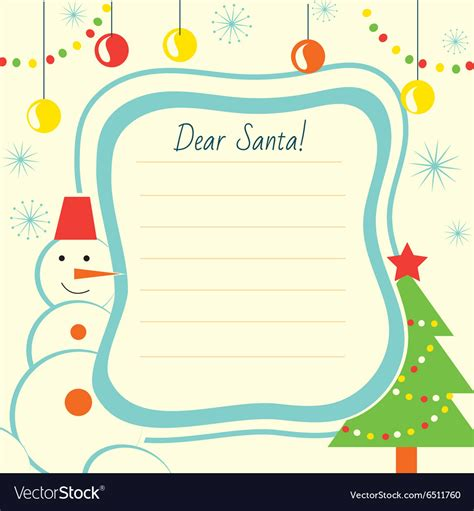 santa claus letter letter template to santa claus for print 11808