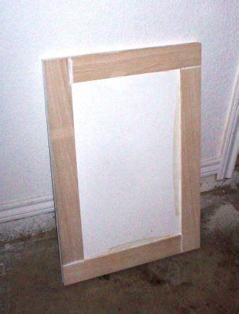 how to add trim to cabinet doors cabinet door refinish adding trim cabinets doors and