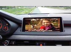 BMW X5 F15 PIP multimedia interface Mpeg4 TV tuner HD