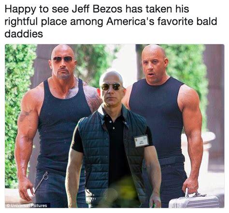 Jeff Bezos Memes - happy to see jeff bezos has taken his rightful place among america s favorite bald daddies