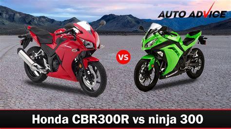 Honda Cbr300r Vs Kawasaki Ninja 300– Beginner Sportsbike