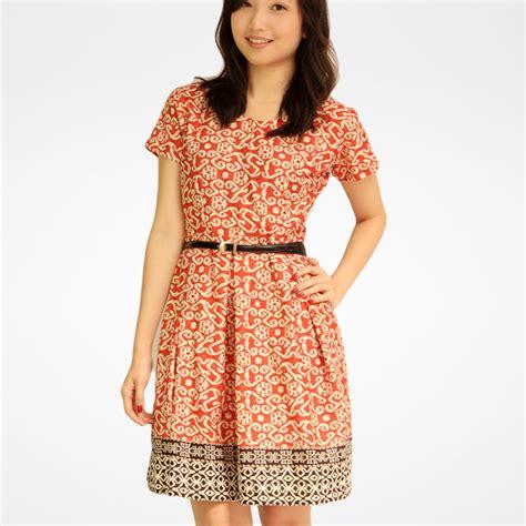 8 Koleksi Model Dress Baju Batik Terkini - Batik Indonesia