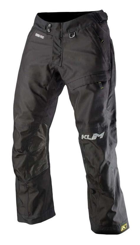 motorcycle pants klim latitude pants closeout black jpg