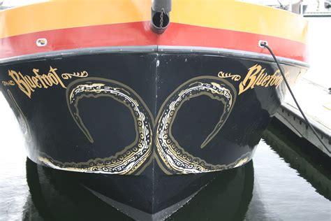 Kraken Boat Graphics by Vinyl Custom Boat Graphics Fort Lauderdale Florida