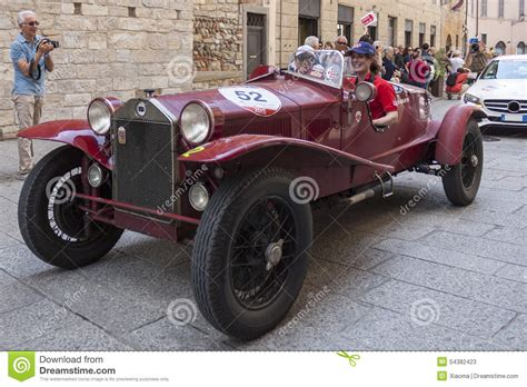 1000 Miglia 2018 Italys Famous Car Race Editorial Stock