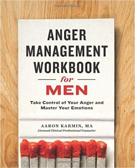 pre order  anger management workbook  men urban
