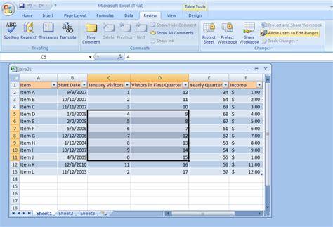 excel worksheet range worksheets for all and