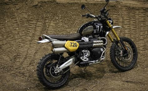 Modification Triumph Scrambler 1200 by Triumph To Compete In Baja 1000 With New Scrambler 1200
