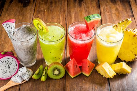 fruit drinks photo juice pineapples watermelons highball glass chinese gooseberry