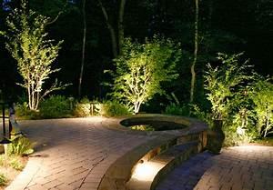 Landscape lighting victor ny john welch enterprise for Outdoor illuminations garden lighting