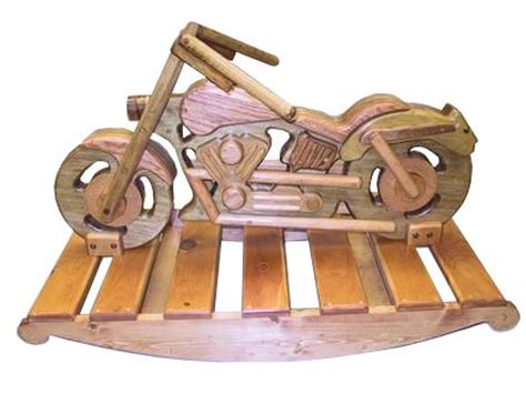 wooden motorcycle rocking horse plans woodworking projects plans