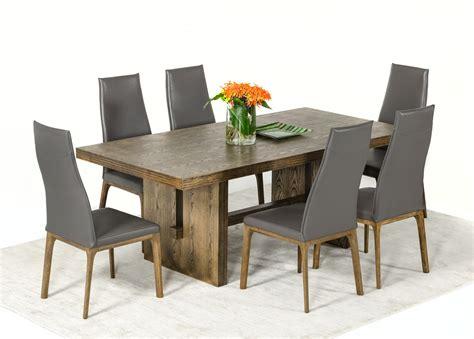 modrest cologne modern white wash oak dining table