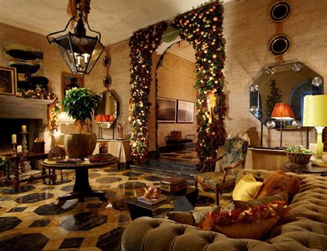 home interiors christmas holiday themed designer show house supports komen